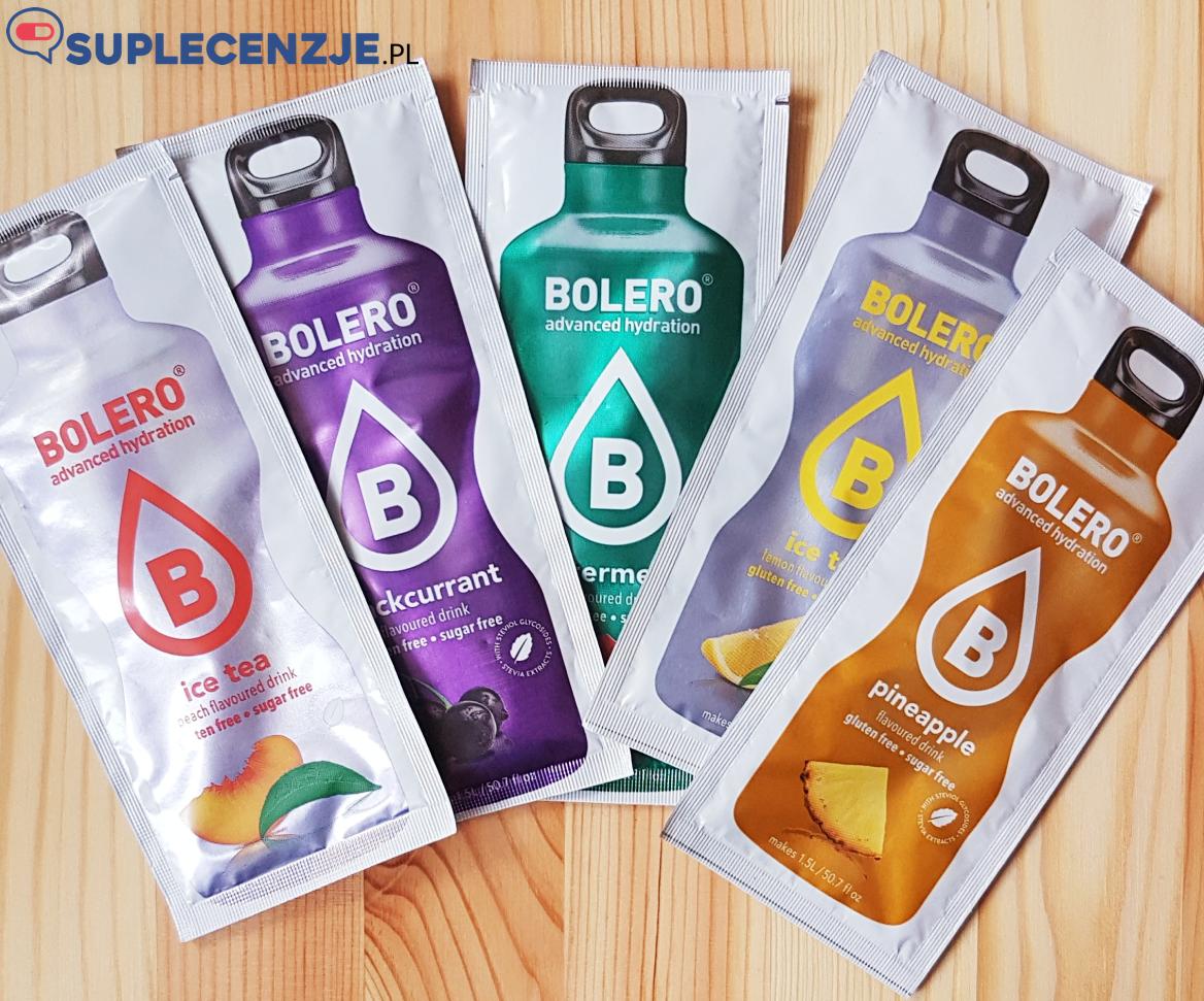 Produkty Bolero mają cały szereg smaków do wyboru!