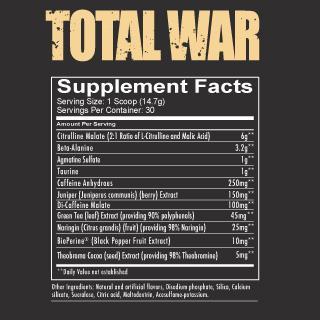 Pełen skład produktu Total War