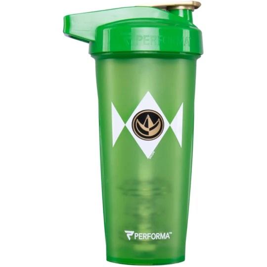 jedna z wersji shakera wzorowana na symbolice zielonego Power Rangersa